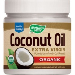 Coconut Oil-Extra Virgin Organic 16 Oz by Nature's Way