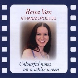 Colourfull Notes on a White Screen