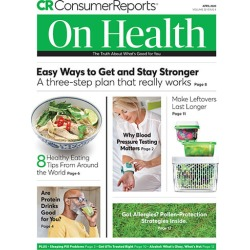 Consumer Reports on Health Magazine Subscription, 12 Issues, Healthy Living magazines.com