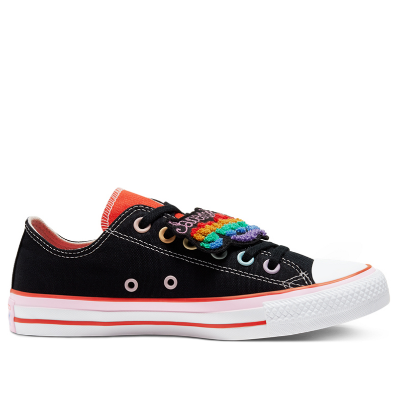 Converse Millie Bobby Brown x Womens WMNS Chuck Taylor All Star Ox 'Multi' 567300C (Size: US 8)