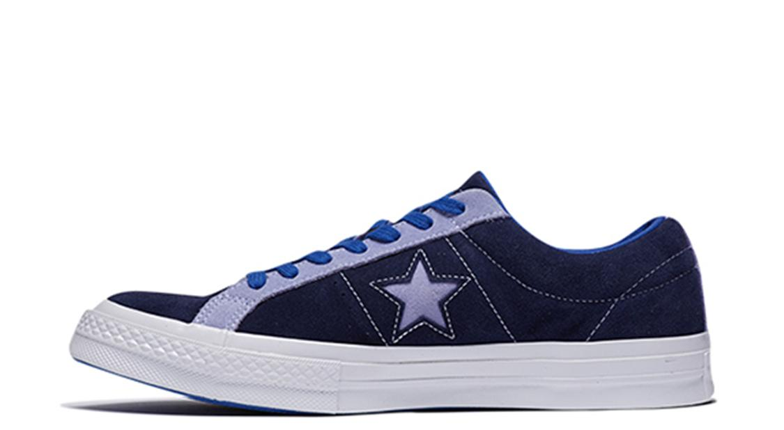 Converse One Star Carnival Low Top 'Eclipse' Eclipse/Twilight Pulse Sneakers/Shoes 161615C (Size: US 3.5)