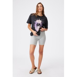 Cotton On Women - The Original Graphic Tee - Wild and free/black