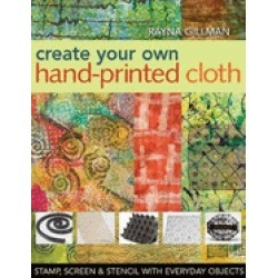create your own hand printed cloth stamp screen and stencil with everyday o