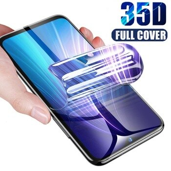 Curved Edge Full Cover For ZTE Blade A5 A7 2020 Screen Protector Hydrogel Film For ZTE Blade 10 Prime Protective Film Not Glass