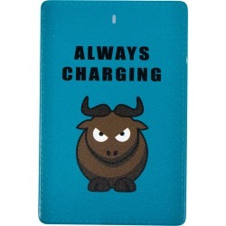 CuTech Always Charging 2,500 mAh Powerbank for iPhone & Android