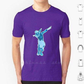 Dab T Shirt 6Xl Cotton Cool Tee Br Battle Royal Epic Games Emote Dance Video Game Games Loser Gift Red