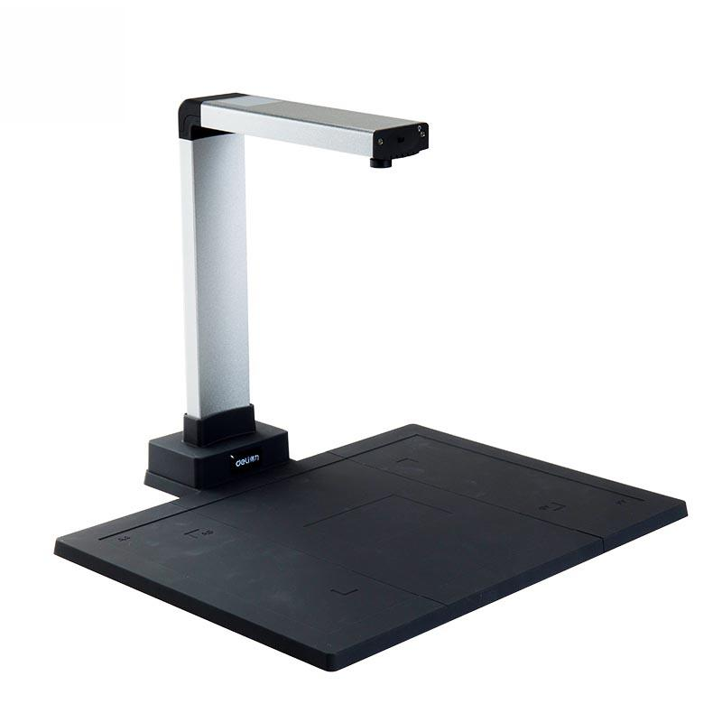 Deli 15153 High Definition High-speed Document Scanner With Identity Recognition A4 Portable Photos