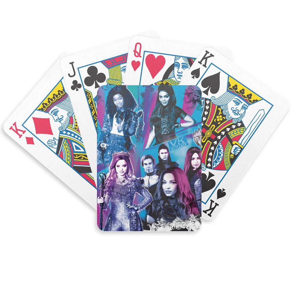 Descendants 3: VK Squad Bicycle Playing Cards Customized Official shopDisney