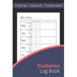 diabetes log book simple 2 year blood sugar recording book diabetes trackin