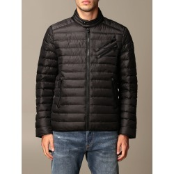 Diesel Jacket Diesel Motor Down Jacket In Quilted Nylon