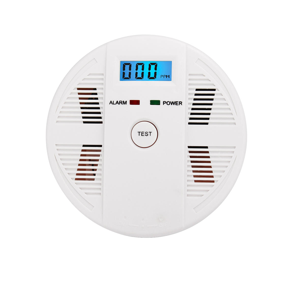 Digital LCD CO Carbon Monoxide&Smoke Detector Alarm Poisoning Gas Warning Sensor