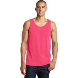 District Young Mens The Concert Tank - Neon Pink - S