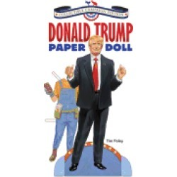 donald trump paper doll collectible campaign edition