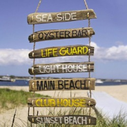 Driftwood Direction Sign