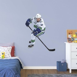 """Elias Pettersson for Vancouver Canucks - Officially Licensed NHL Removable Wall Decal Giant Athlete + 2 Decals (44""""W x 56""""H) by"""