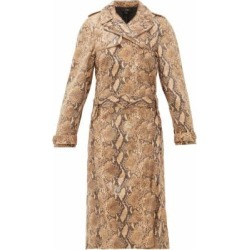 Ellery Trench-coat façon peau de serpent Spectrum