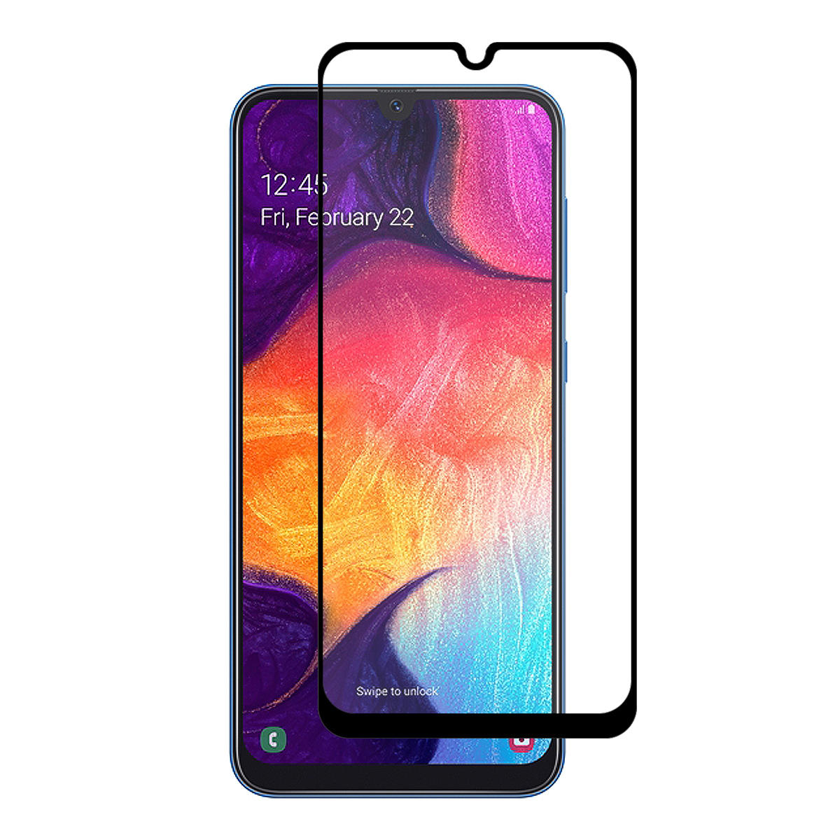 Enkay 2.5D Curved Edge Full Glue Tempered Glass Screen Protector For Samsung Galaxy A30 2019/Galaxy A50 2019