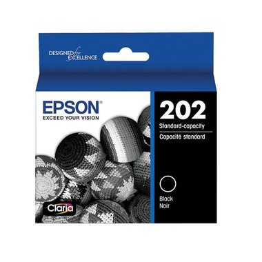 Epson T202120-S T202 Claria Standard-Capacity Ink Cartridge - Black