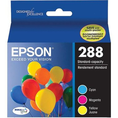 Epson T288520-S DURABrite Ultra Color Combo Pack Standard Capacity Ink Cartridge