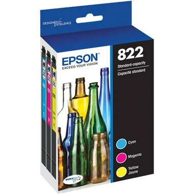 Epson T822520-S Standard Capacity Color Combo Ink Cartidges