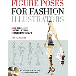 figure poses for fashion illustrators scan trace copy 250 templates for pro