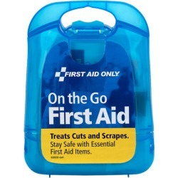 First Aid Only on-the-go First Aid Kit, 27 pcs