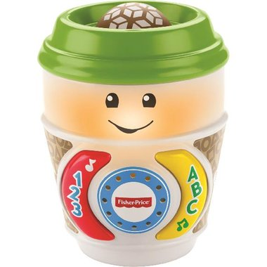 Fisher Price GCV95 Laugh & Learn On-the-Glow Coffee Cup