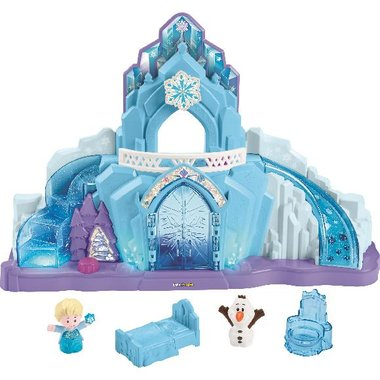 Fisher Price GGV29 Disney Frozen Elsa's Ice Palace By Little People