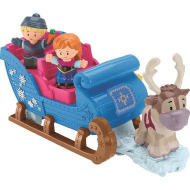 Fisher Price GGV30 Disney Frozen Kristoff's Sleigh By Little People
