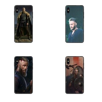 For Xiaomi Mi Max Mix 2 3 2S 5X 6X CC9 CC9E Pro Note 10 Lite Pro Ultra TPU Phone Capa Vikings Ragnar Vikings Season Lothbrok