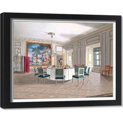Framed Print. Album offered in 1826 to Princess Marie d'Orl�ans, daughter of King Louis-Philippe