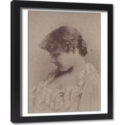 Framed Print. Annie Robe Wallace, from the Actresses series (N67) promoting Virginia Brights Cigaret