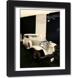 Framed Print. Automobiles of London Car Auction