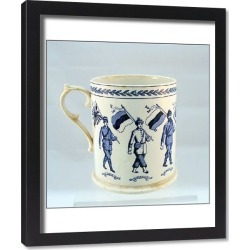 Framed Print. Booths Silicon china mug - 8 Allies including India