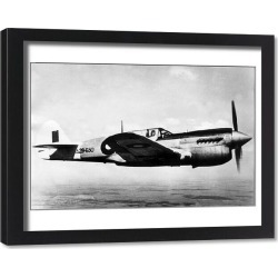 Framed Print. Curtiss P-40N Kittyhawk IV -these progressively replace