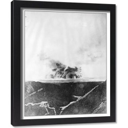 Framed Print. Hawaii s famous volcano in action. A remarkable picture of the volcano of Kilauea