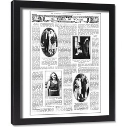 Framed Print. Illustrated London News, 23rd July 1927