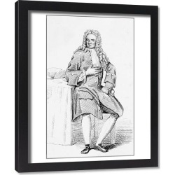 Framed Print. John Radcliffe - English physician, academic and politician