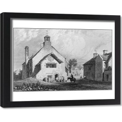 Framed Print. Llantwit Major