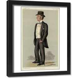 Framed Print. Lord Justice Barry, Vanity Fair, Lib