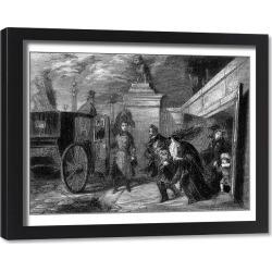 Framed Print. LOUIS-PHILIPPE QUITS
