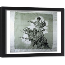Framed Print. Pro Italia - Allies and Brothers-In-Arms for Justice