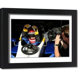 Framed Print. Red Bull US Driver Search