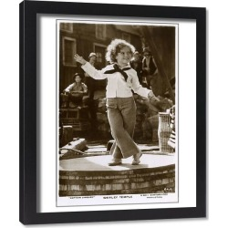 Framed Print. Shirley Temple starring in Captain January