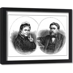 Framed Print. Spurgeon and Mrs s