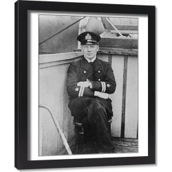 Framed Print. Three U Boat Captains to be tried on serious charges Three U boat commanders who