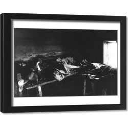 Framed Print. Typhus Sufferers in Kniagin, Russia