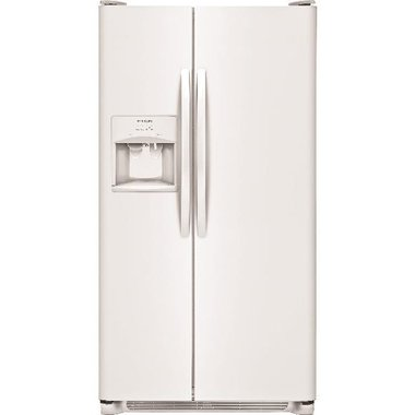 Frigidaire FFHS2311LW-WW 22.1 CuFt Side-By-Side Refrigerator With SpaceSaver Shelf In White