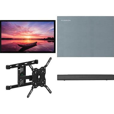 "Furrion 49 SHD ARTIC2 4-Piece Outdoor TV Package With 49"" TV, 49"" TV Cover, TV Mount And Soundbar With Built-In Subwoofer"