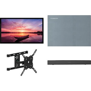 "Furrion 55 SHD ARTIC2 4-Piece Outdoor TV Package With 55"" TV, 55"" TV Cover, TV Mount And Soundbar With Built-in Subwoofer"